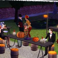 Halloween côté (Around The) Sims (3)
