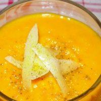 Menu Totally Courge - l'entrée : Soupe 3C