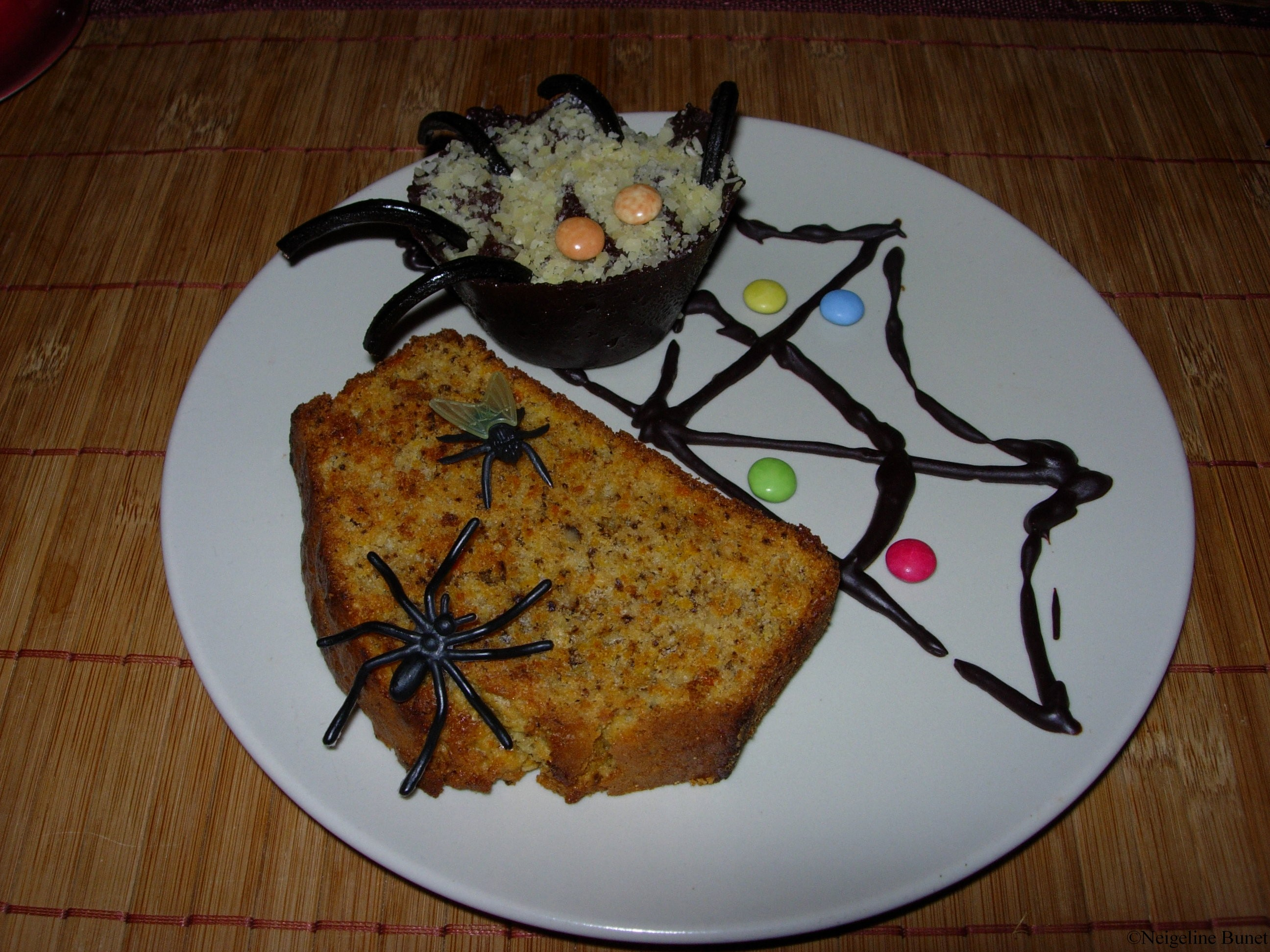 carrot courge cake