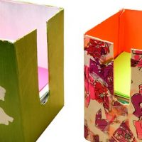 Le cube à notes à créer soi-même: pratique et écolo