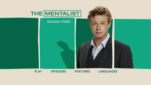 Menu DVD Mentalist Saison 3