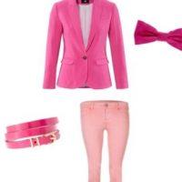 Vêtements et accessoires : 100 % rose !
