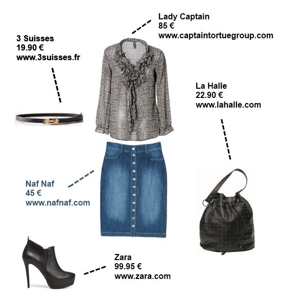 4 mani res de porter la jupe en jean so what. Black Bedroom Furniture Sets. Home Design Ideas