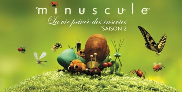 minuscule - DVD minuscule - miniscule saison 2 - insectes - film d'animation 3D - film enfants - DVD minuscule saison 2