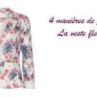 4 manières de porter… la veste fleurie