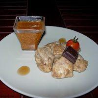 Poulet façon Mole Poblano (sauce chocolat)