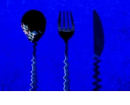 Menu monochrome bleu : une touche de féerie dans vos assiettes !