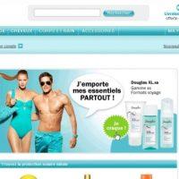 La parfumerie Douglas en ligne