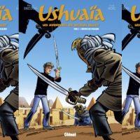 Ushuaia, les aventures de Nicolas Hulot, Tome 3. L'héritier des pharaons – Bresson, Ridel