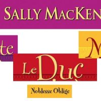 Noblesse oblige – Sally MacKenzie – saga sexy