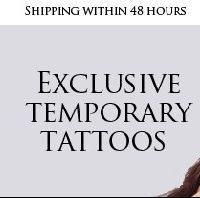Allez, cet été, on ose le tatouage ... Fake Tattoos !
