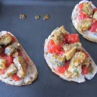Crostini de Sardines Chermoula