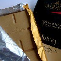 Un nouveau venu parmi les chocolats : le chocolat blond Dulcey, de Valrhona