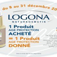 En décembre 2012, 1 produit Logona acheté = 1 produit offert pour les plus démunis