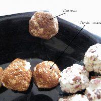 """Billes de fromage aux cinq épices (Epicerie """"Bien Manger"""")"""