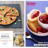 """Emilie Perrin : """"Pizzas, quiches & cakes"""" ... et les petites """"Barquettes"""" de notre enfance !"""