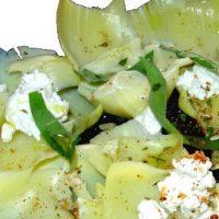 Recette toute verte : carpaccio d'artichaut