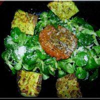 Recette toute Verte : salade provençale