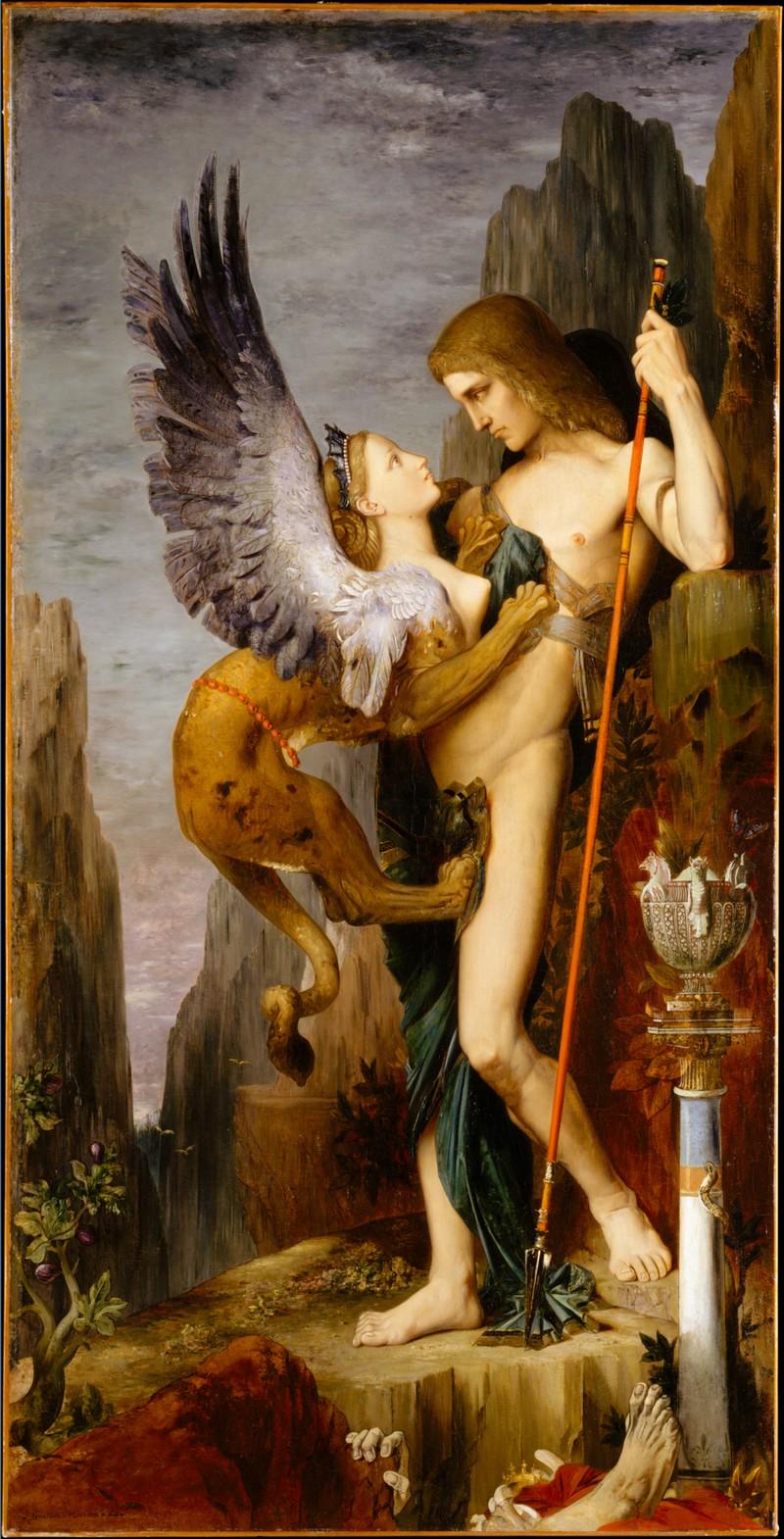 OEdipe et le Sphinx MET