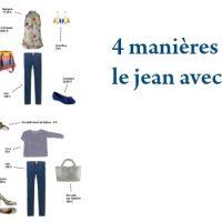 4 manières de porter le jean avec humour