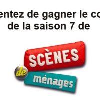 Jeu-concours séries télé: tentez de gagner le coffret DVD de Scènes de Ménages saison 7 !