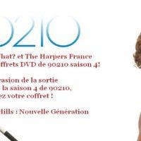 Jeu-concours séries télé: tentez de gagner des coffrets DVD de 90210 saison 4 !