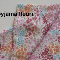 DIY : le range pyjama fleuri