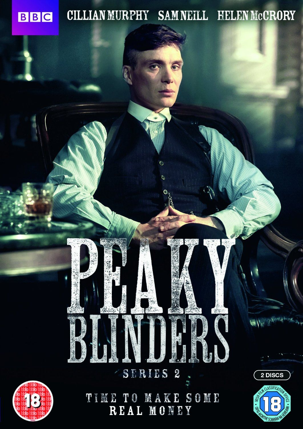 Peaky Blinders DVD import UK S2