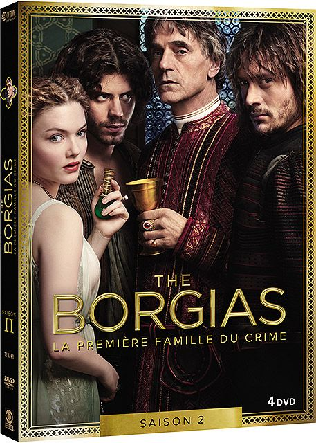 The Borgias DVD S2