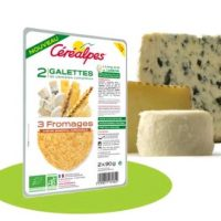 Bonne résolution (culinaire) n° 3 : goûter les galettes végé Céréalpes