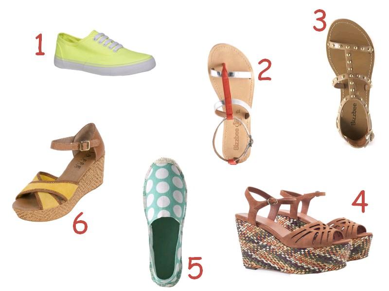 Chaussures été