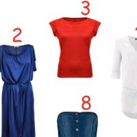 Shopping mode en bleu-blanc-rouge