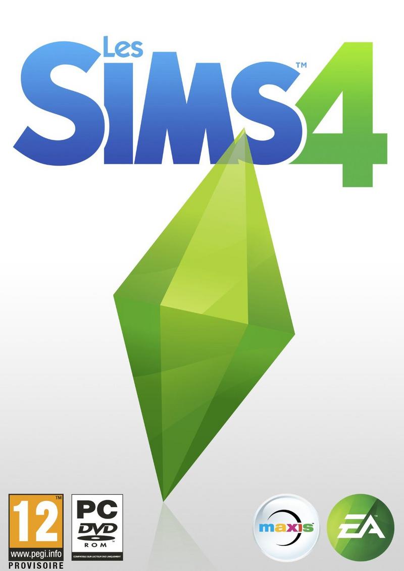 Les Sims 4 boitier jeu