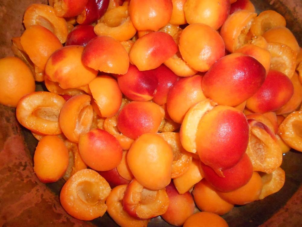 Confiture abricots  2