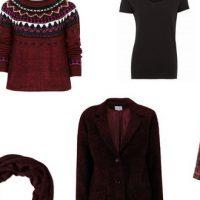 Mode : tendance bordeaux et noir