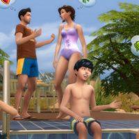 Les piscines sont disponibles dans Les Sims 4 !