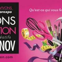 Vivons Création du 7 au 11 novembre 2014 à Bordeaux!