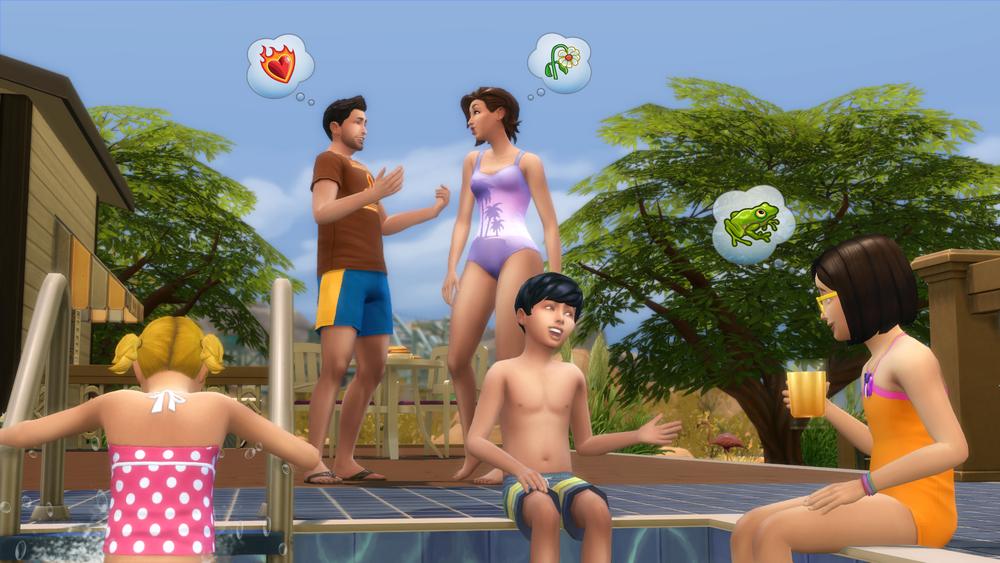 Les Sims 4 piscines 1