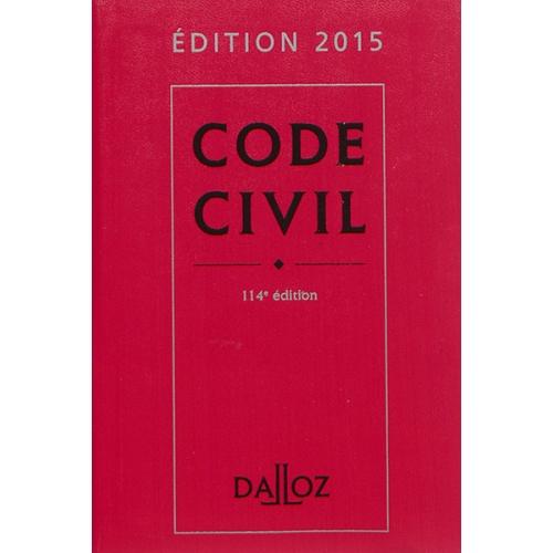 code civil 2015 dalloz
