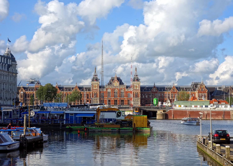 Amsterdam gare © Velvet