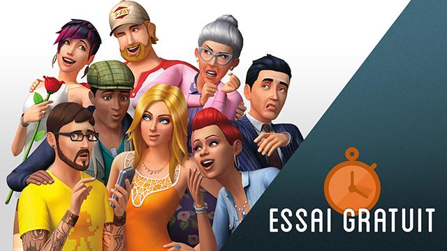 Les Sims 4 essai gratuit