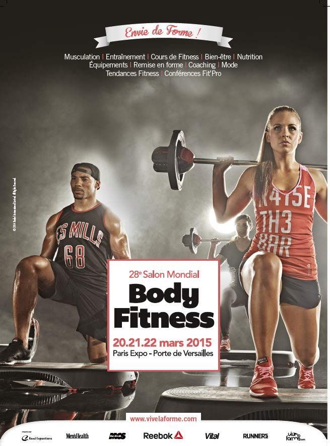 Affiche salon Mondial Body Fitness