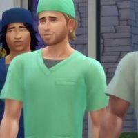 Les Sims 4 Au travail : une vidéo avec des médecins sexy
