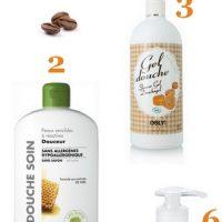 Sélection gourmande de gels douches et shampoings bios