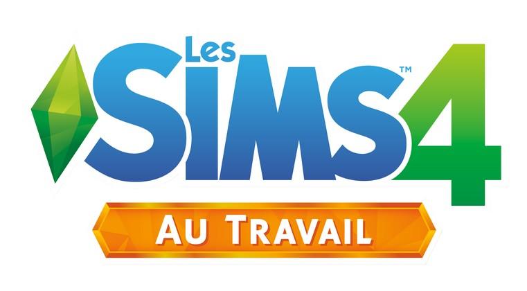 Les Sims 4 Au travail logo