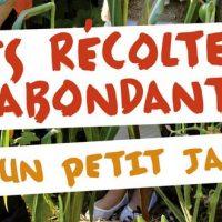 Des récoltes abondantes dans un petit jardin – Fabrice Chollet