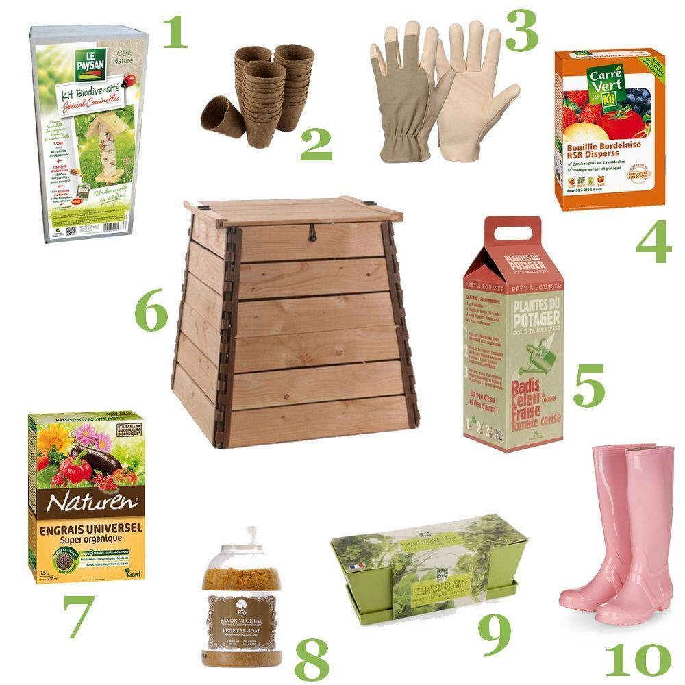 Jardinage pour débutantes sélection shopping