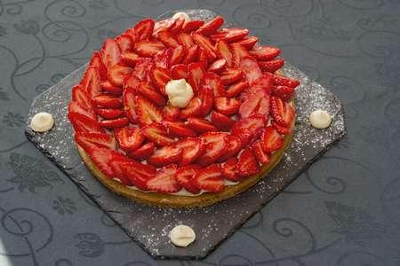 La Tarte aux fraises Gariguette