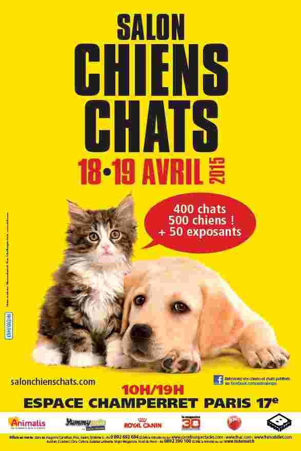 Salon chiens et chats avril 2015