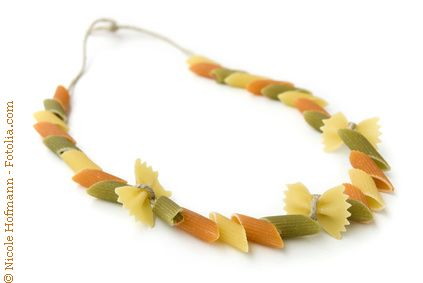 Pasta necklace